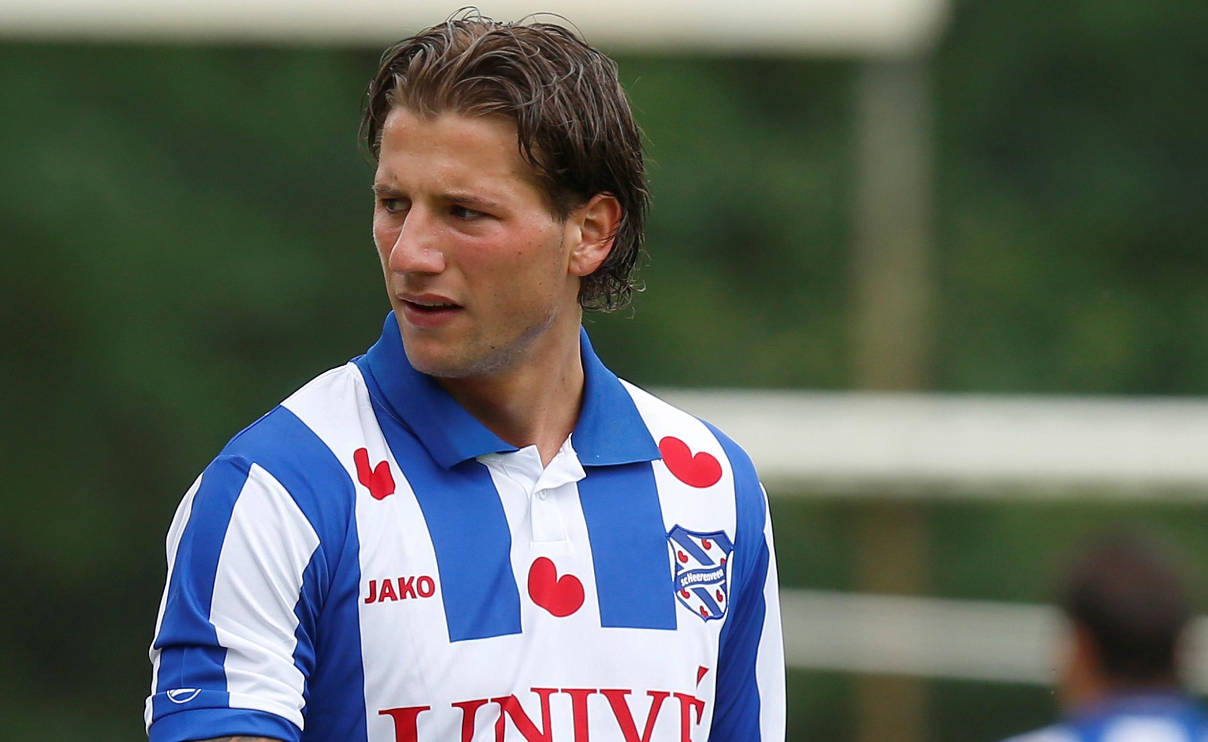 eerste training Heerenveen