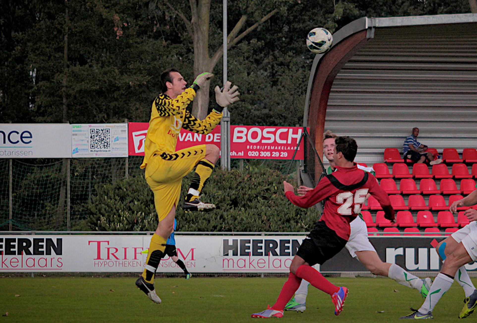 Speler van de week van speelronde 2: Yort Willems van SV Marken